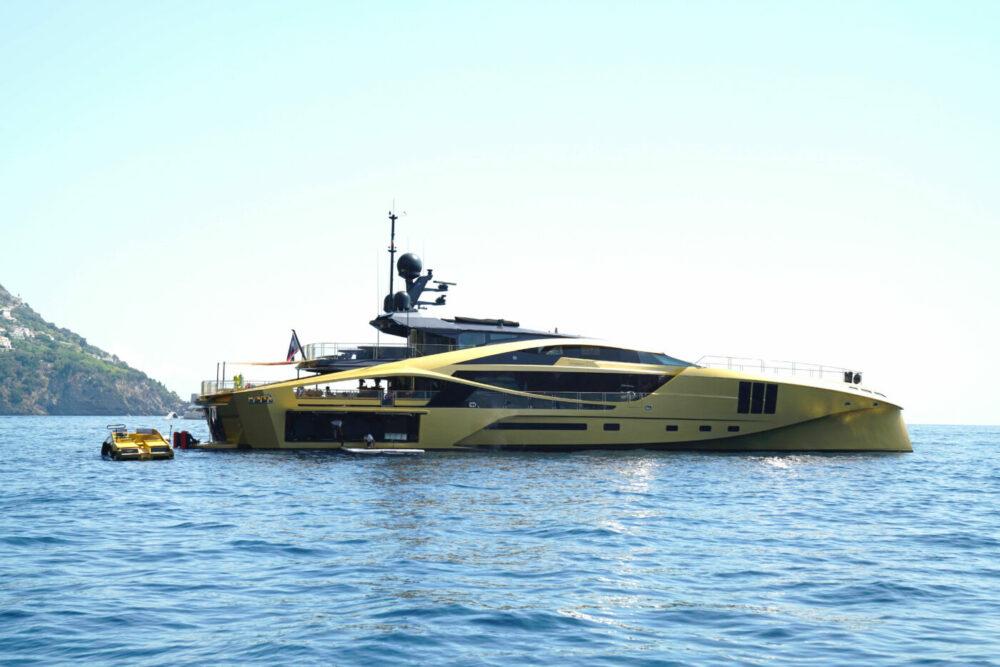 Amalfi-Küste edle Yacht