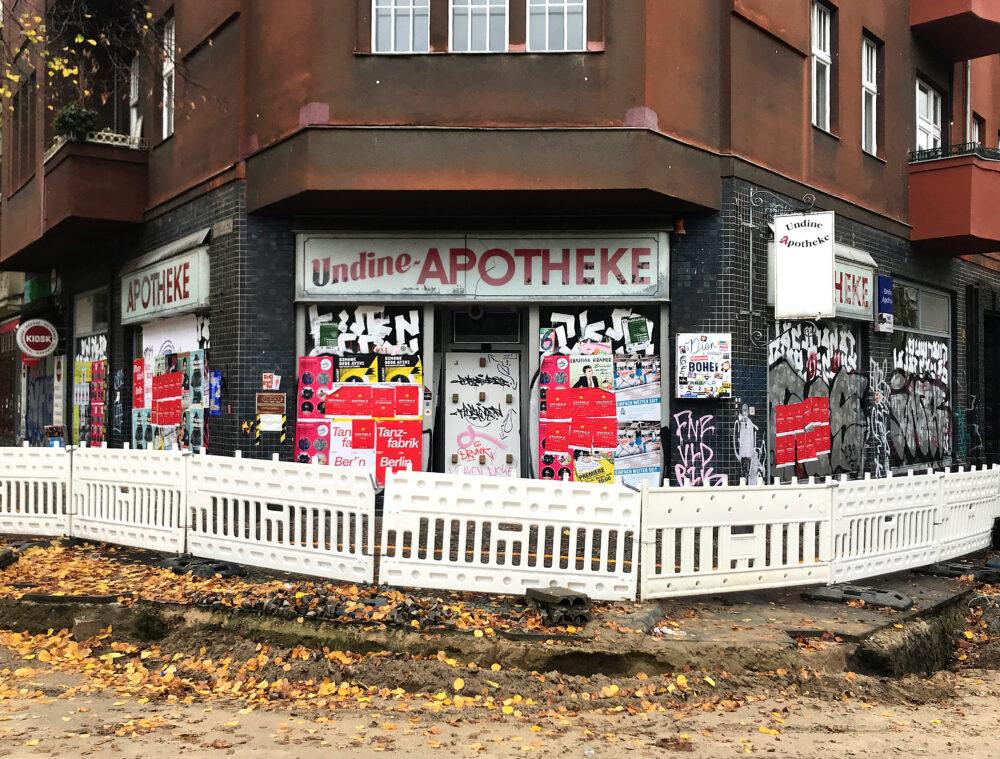 Berlin geschlossene Apotheke