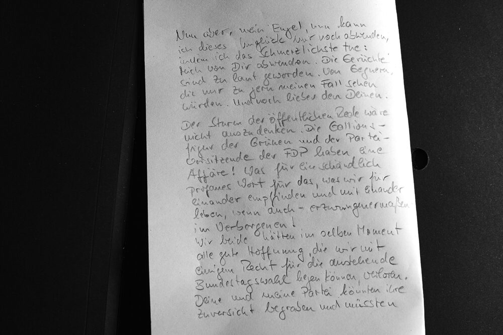 Christian Lindners Brief