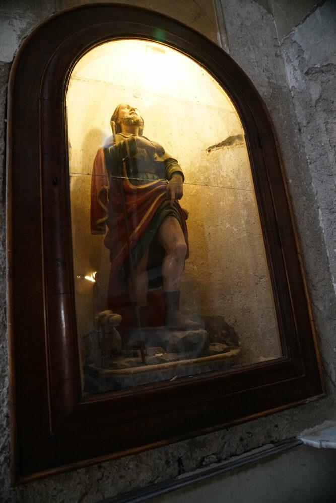Castellammare di Stabia Basiklika Heiligenfigur