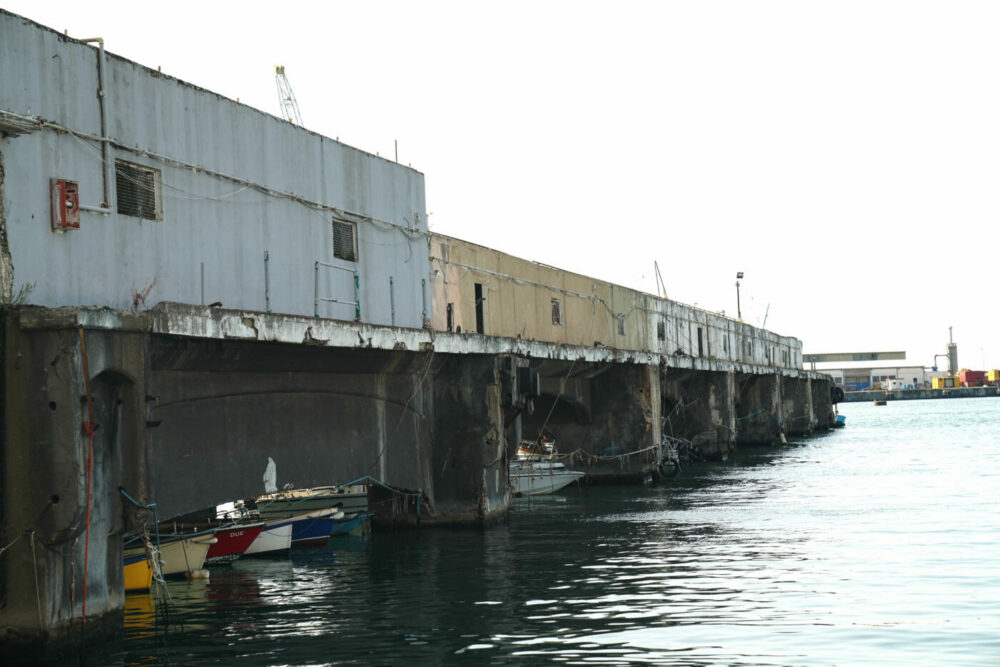 Castellammare di Stabia alte Landungsbrücke