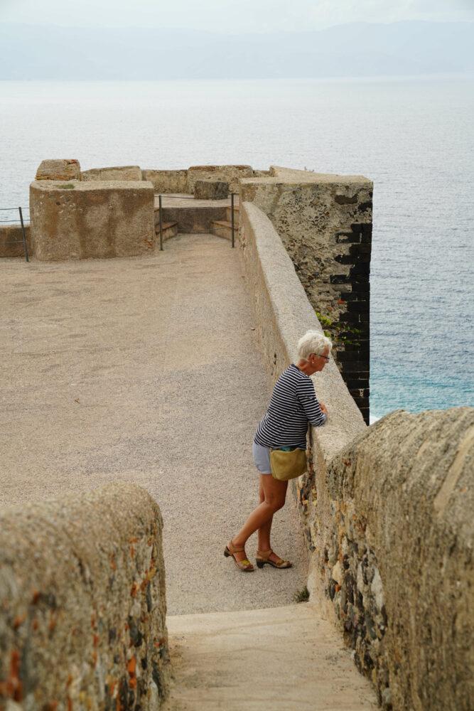 Milazzo Castello Burgmauer