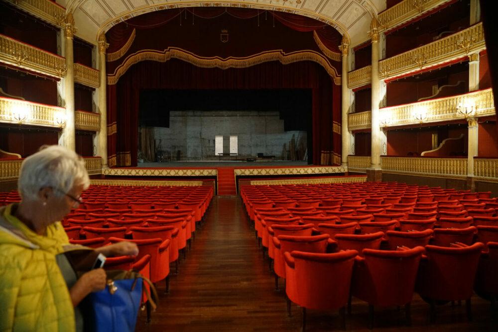 Innenraum Theater Cosenza