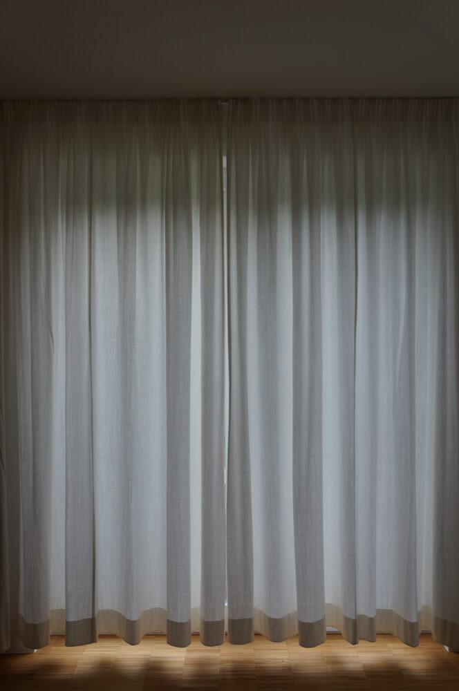 geschlossener Vorhang