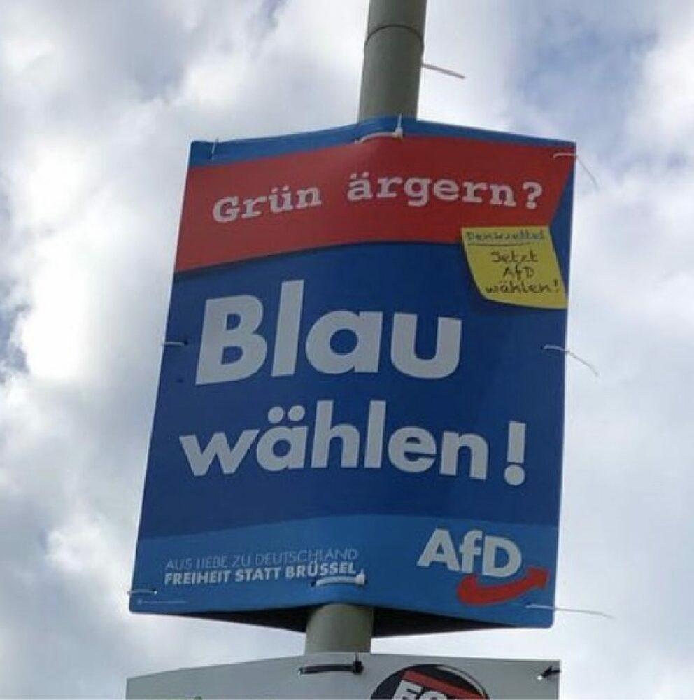 AFD Wahlplakat