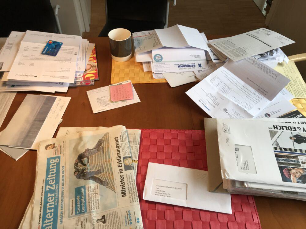 Nach dem Urlaub Post