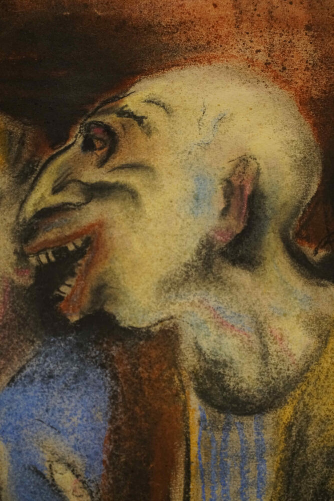 menschliches Gesicht Otto Dix