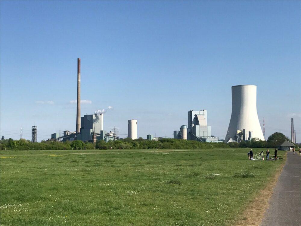 Zwischen Duisburg und Dinslaken