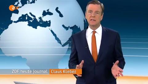 Klaus Kleber Heute-Journal