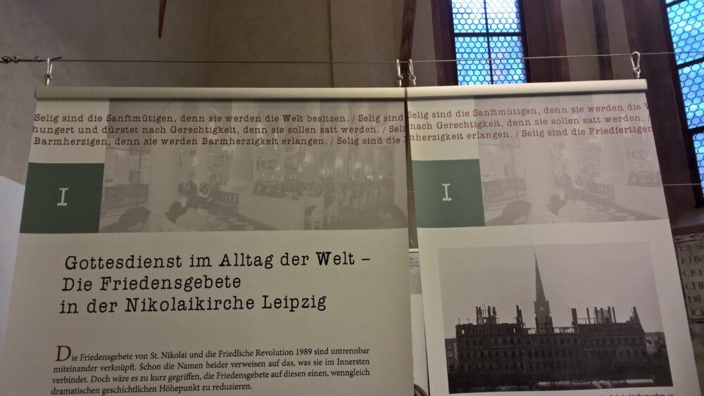Aufsteller Nicolaikirche, Leipzig