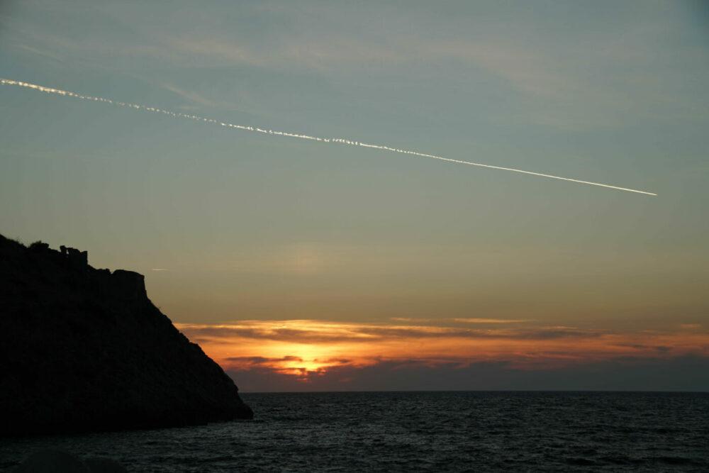 Sonnenuntergang Maratea