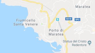 Kartenausschnitt Maratea