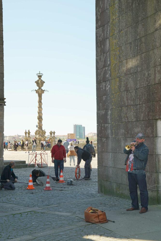 Porto Arbeiter Trompeter
