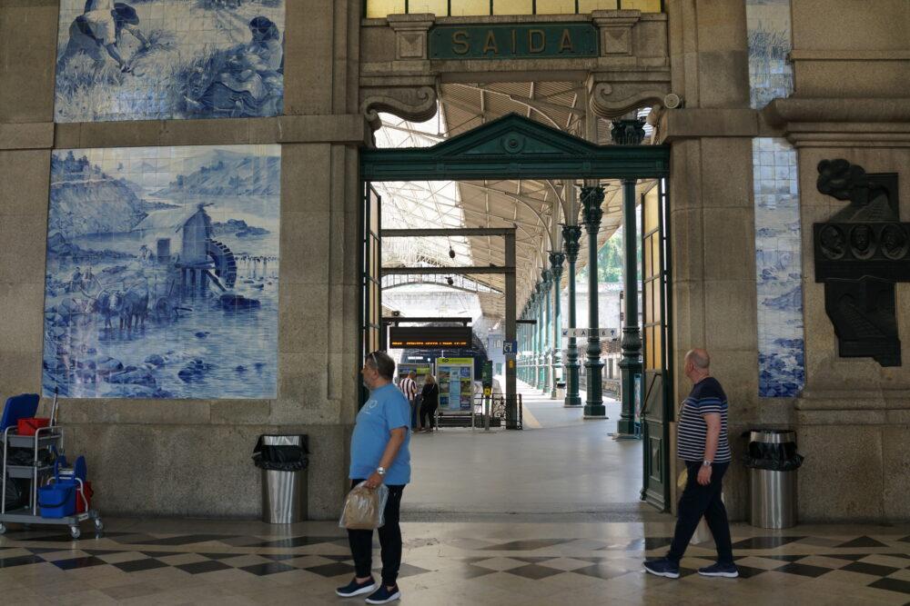 Porto Bahnhof Kacheln