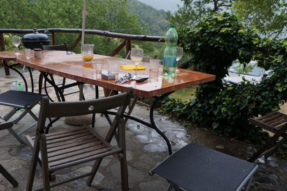 Toskana im Regen