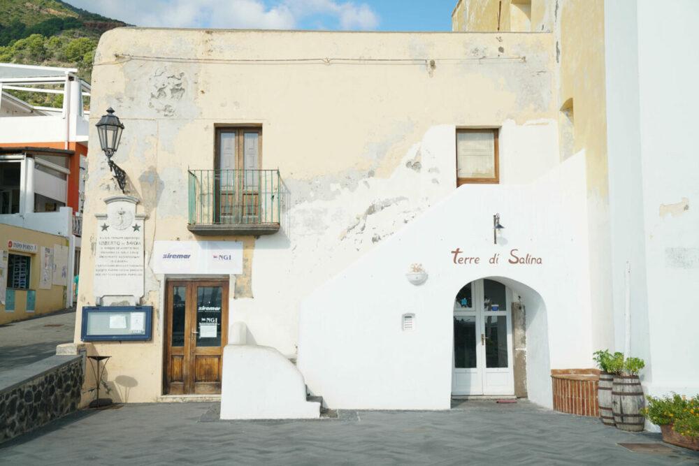 Salina Cafe am Hafen