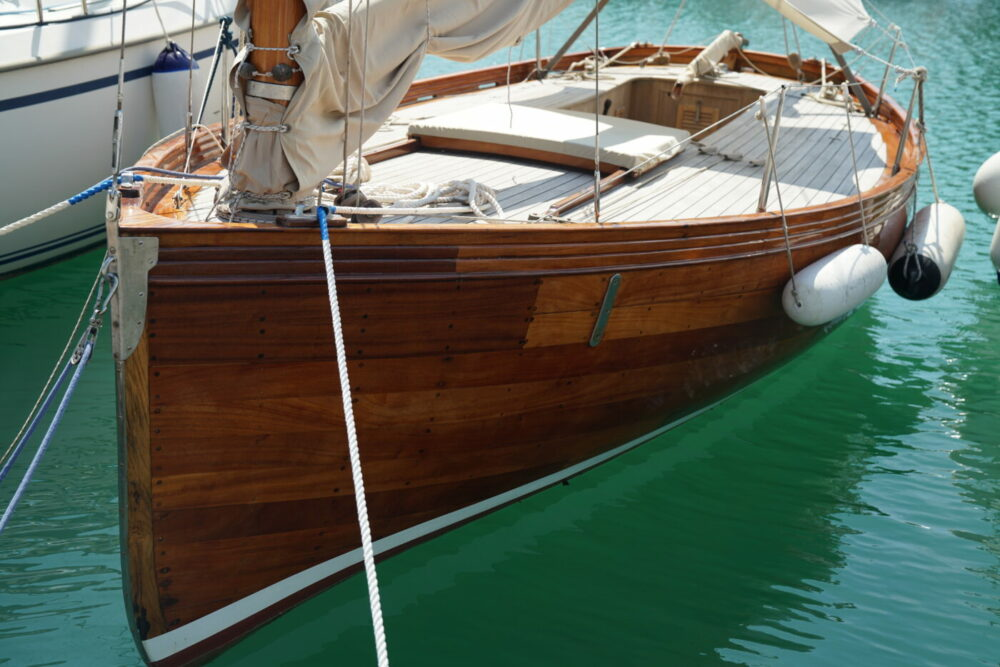 Altes Segelboot