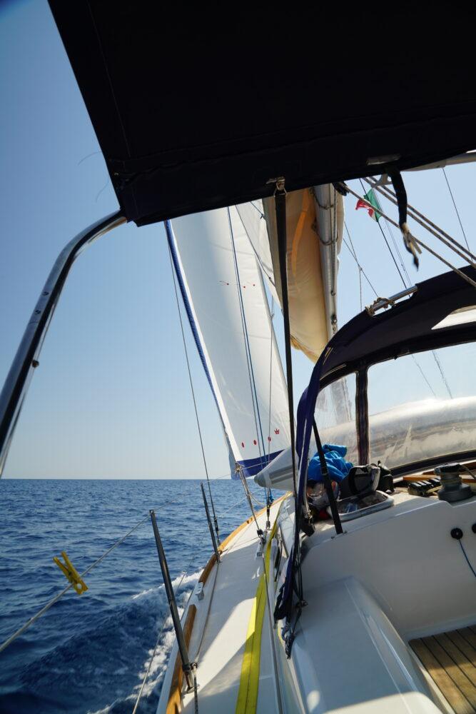 Amalfi Auf dem Wasser