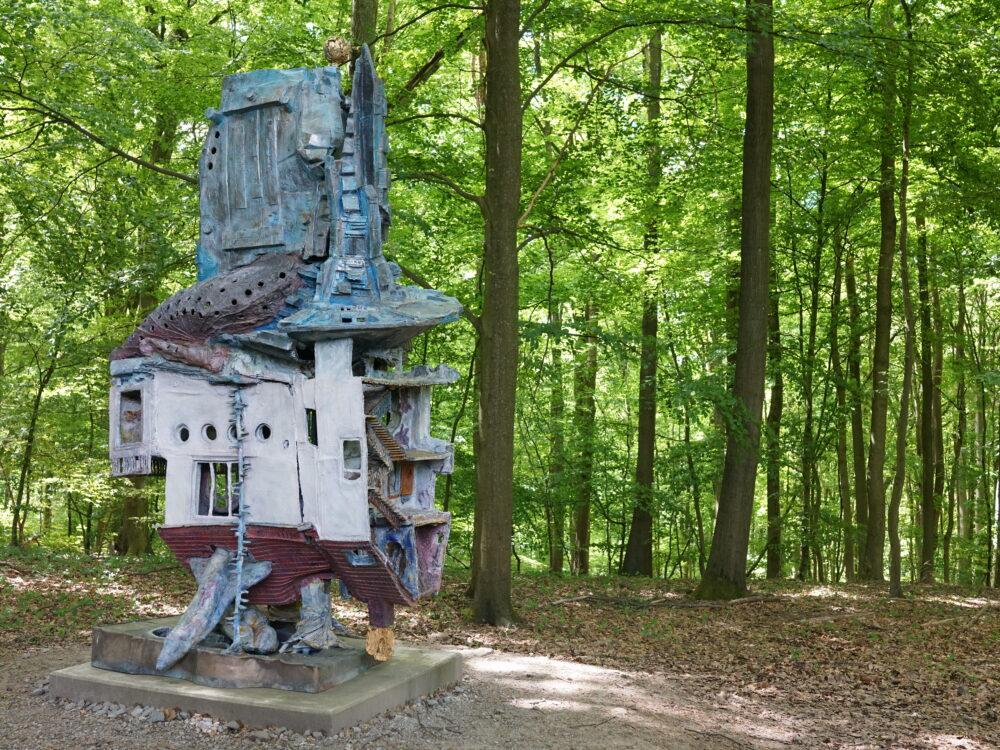Skulptur im Skulpurenpark Wuppertal