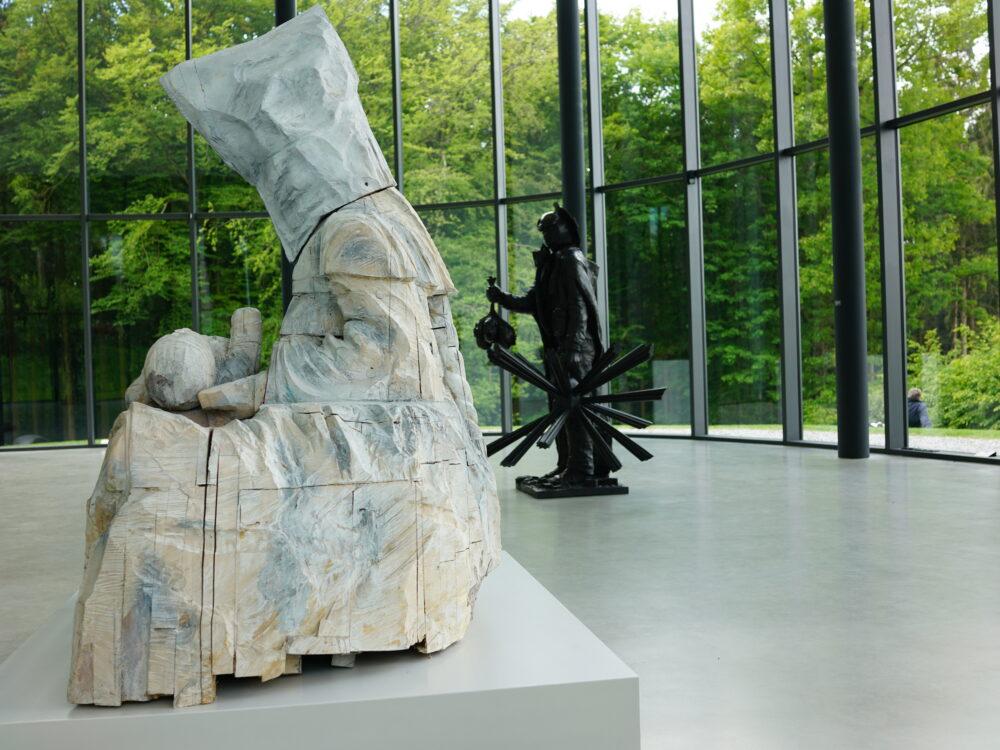 Skulptur im Skulpturenpark Wuppertal